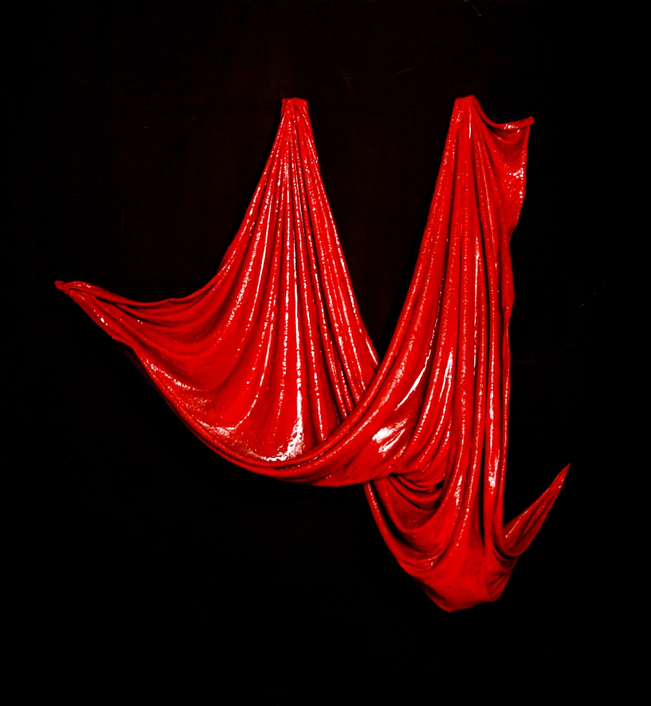 Heli Perrett Gallery Red Drape